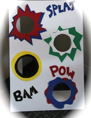 I Want to make this as a beanbag toss that can be hung on the wall and drops the beanbag out the bottom.  Tall and skinny-like? #superherocrafts