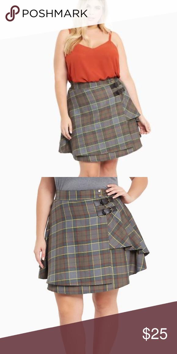 12480b4c3e NWT Torrid Outlander Fraser Tartan Skirt Sz 24 NWT Outlander plaid skirt/ kilt from Torrid