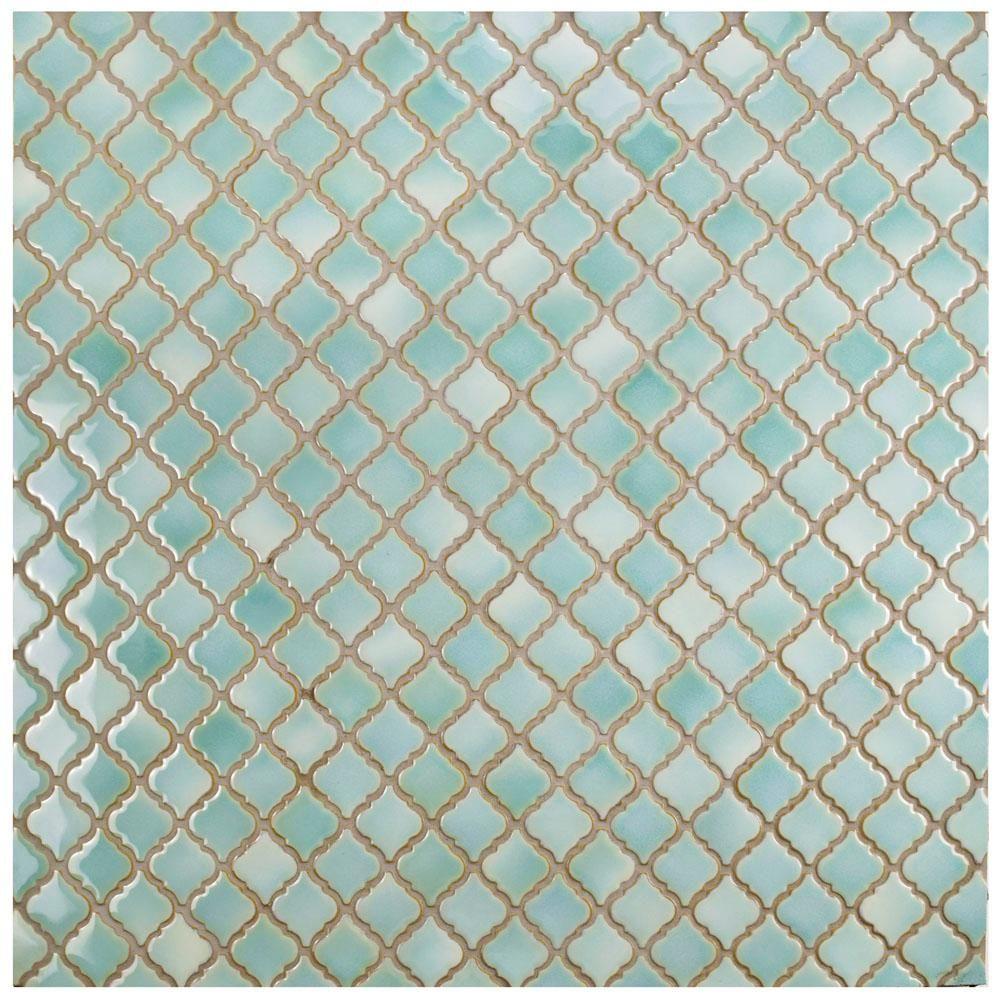 merola tile hudson tangier mint green