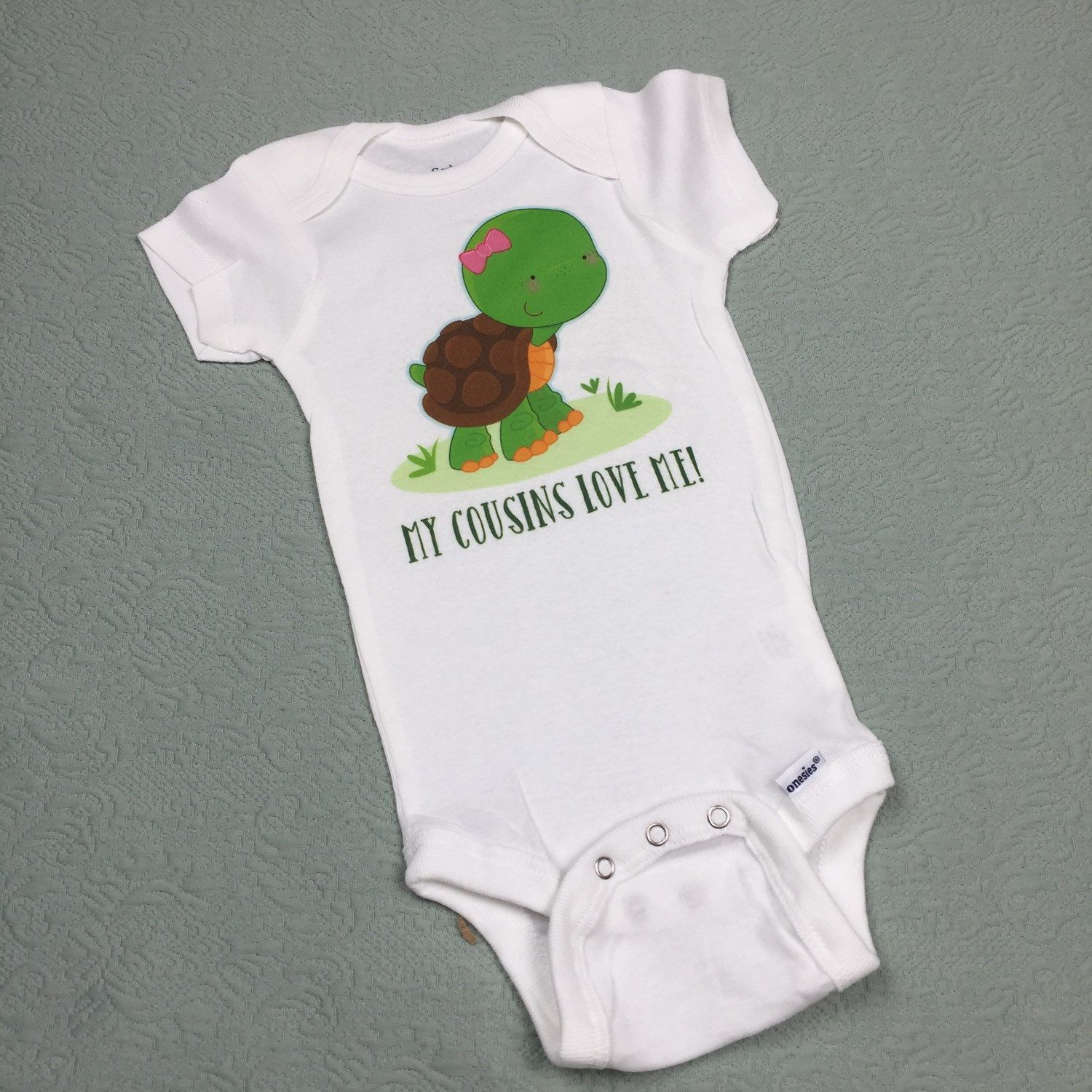 My Cousins Love Me Onesie Or Tee Shirt With Cute Little