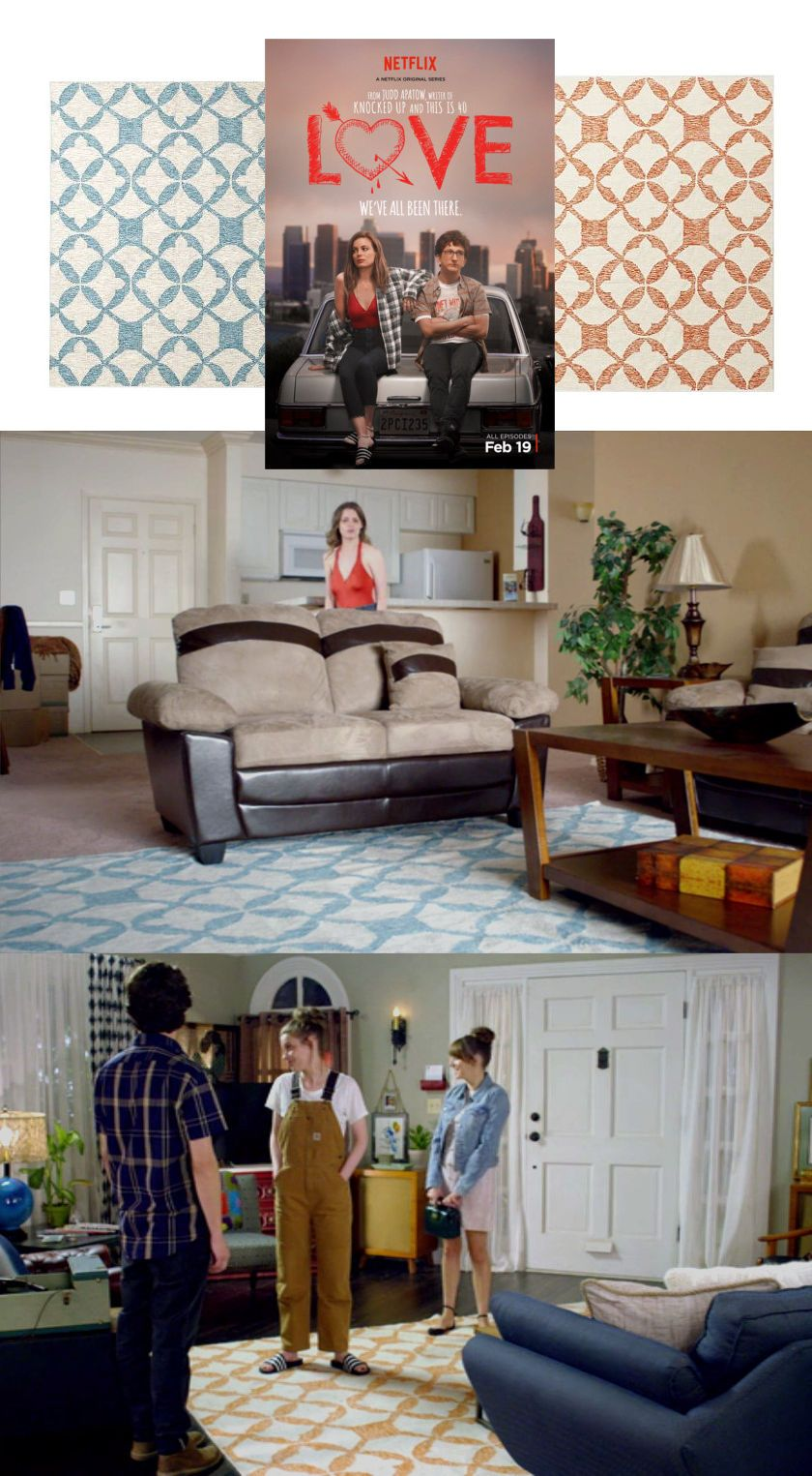 Mickey And Gus Matching Rugs In This New Netflix Production