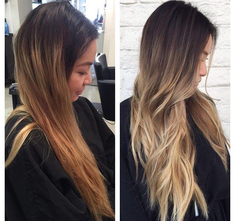 Brassy To Cool Dark Roots Blonde Hair Brassy Hair