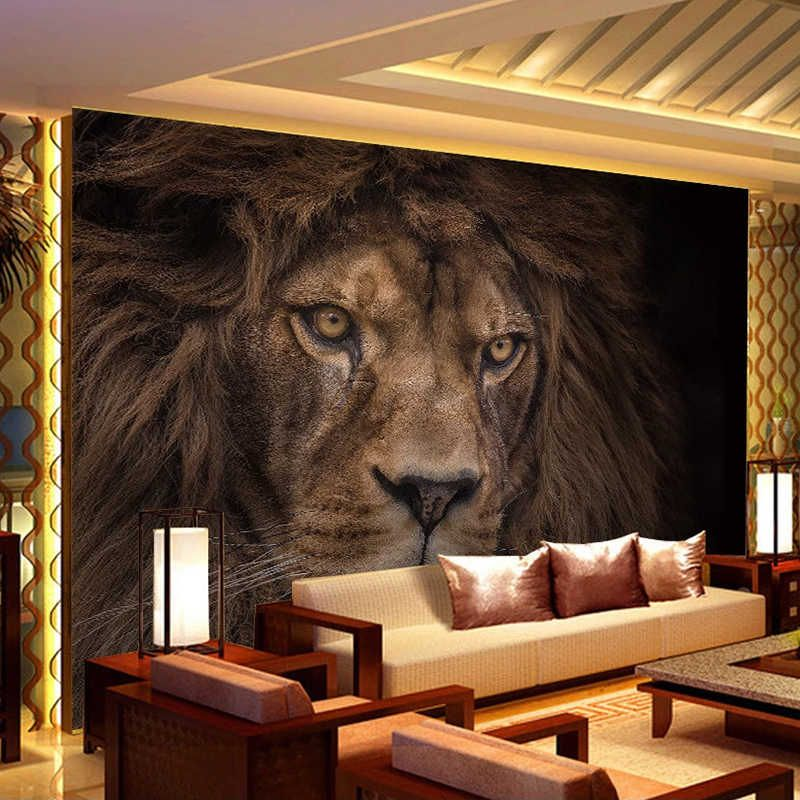 wild animals lions photography poster wall decor ideas