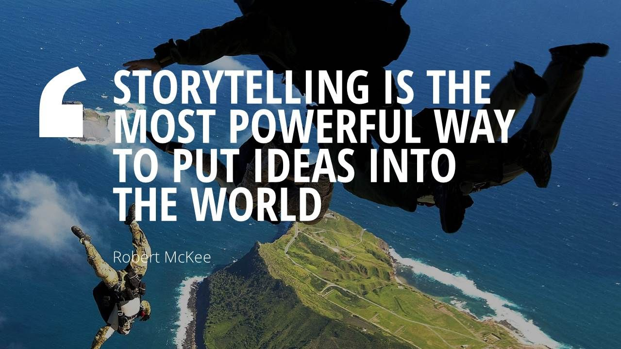 Storytelling Quotes Entrancing Find The Perfect Template To Ensure That Your Presentation Is A