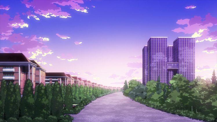 My Hero Boyfriend In 2021 Anime Scenery My Hero Academia Scenery Wallpaper