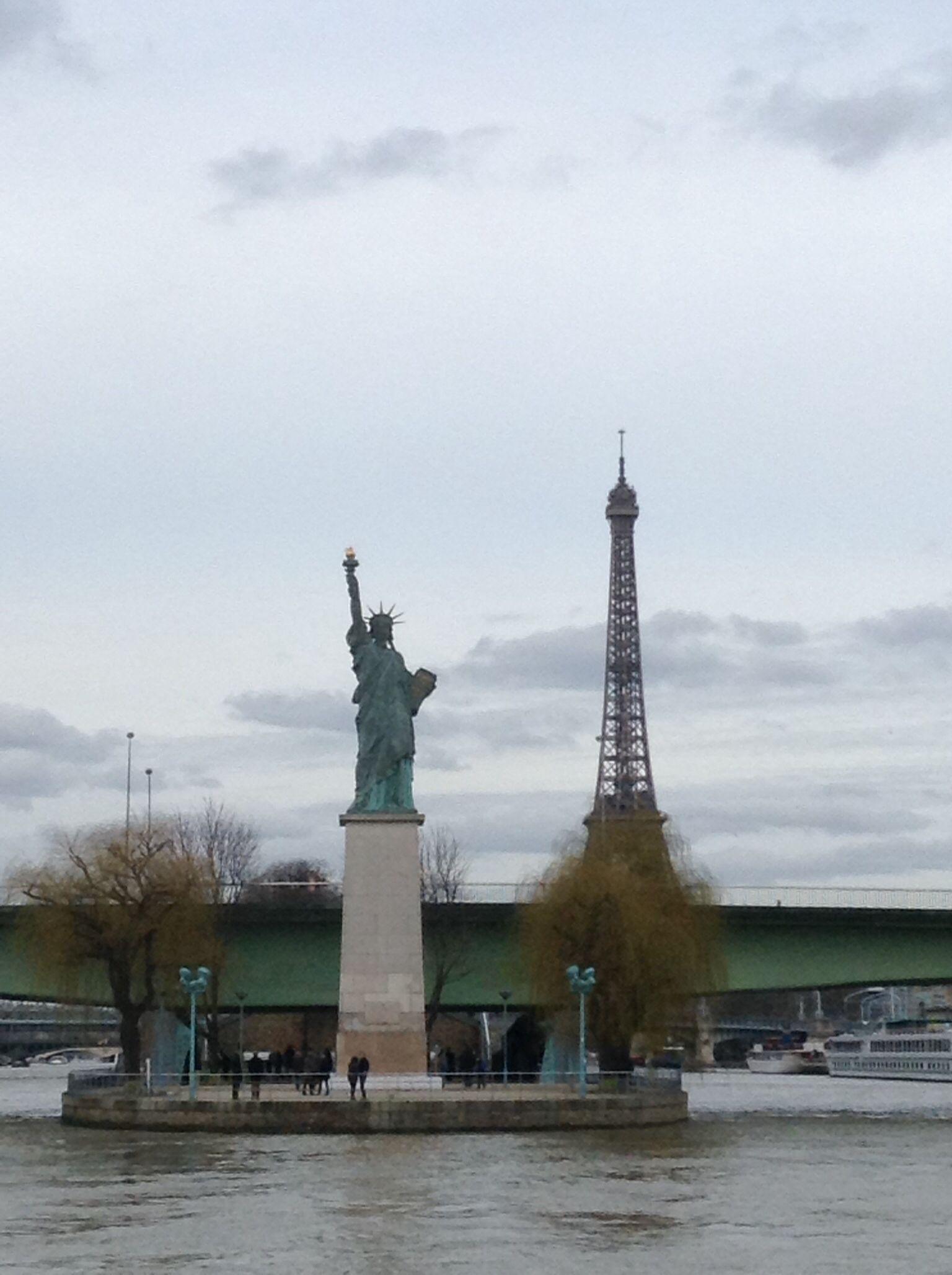 Seine River Cruise. March 2014.