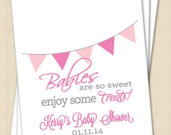 Baby Shower Favor Bags