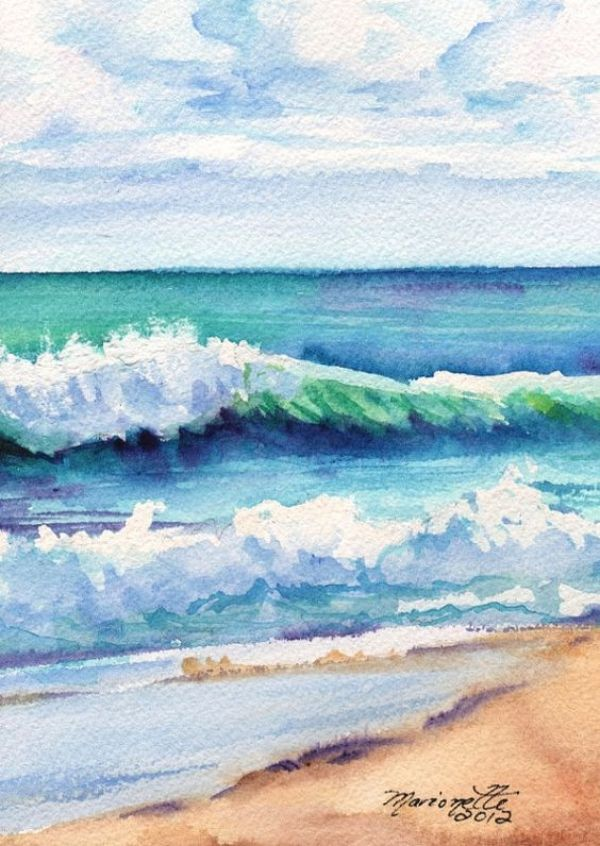 Easy Watercolor Painting Ideas For Beginners Malen Fur Anfanger