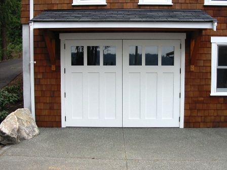 Real Carriage Doors For Your Carriage House Built And Installed To