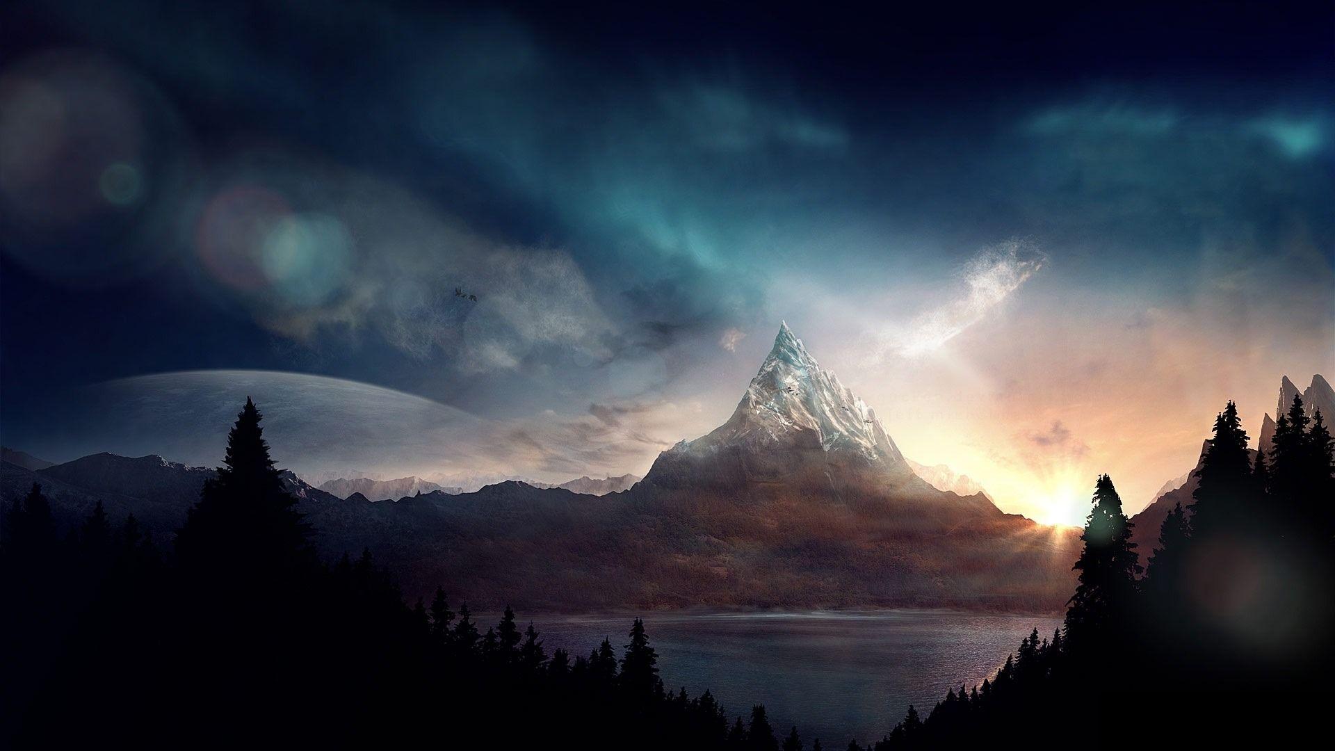 Image result for fantasy landscape wallpaper 1920x1080
