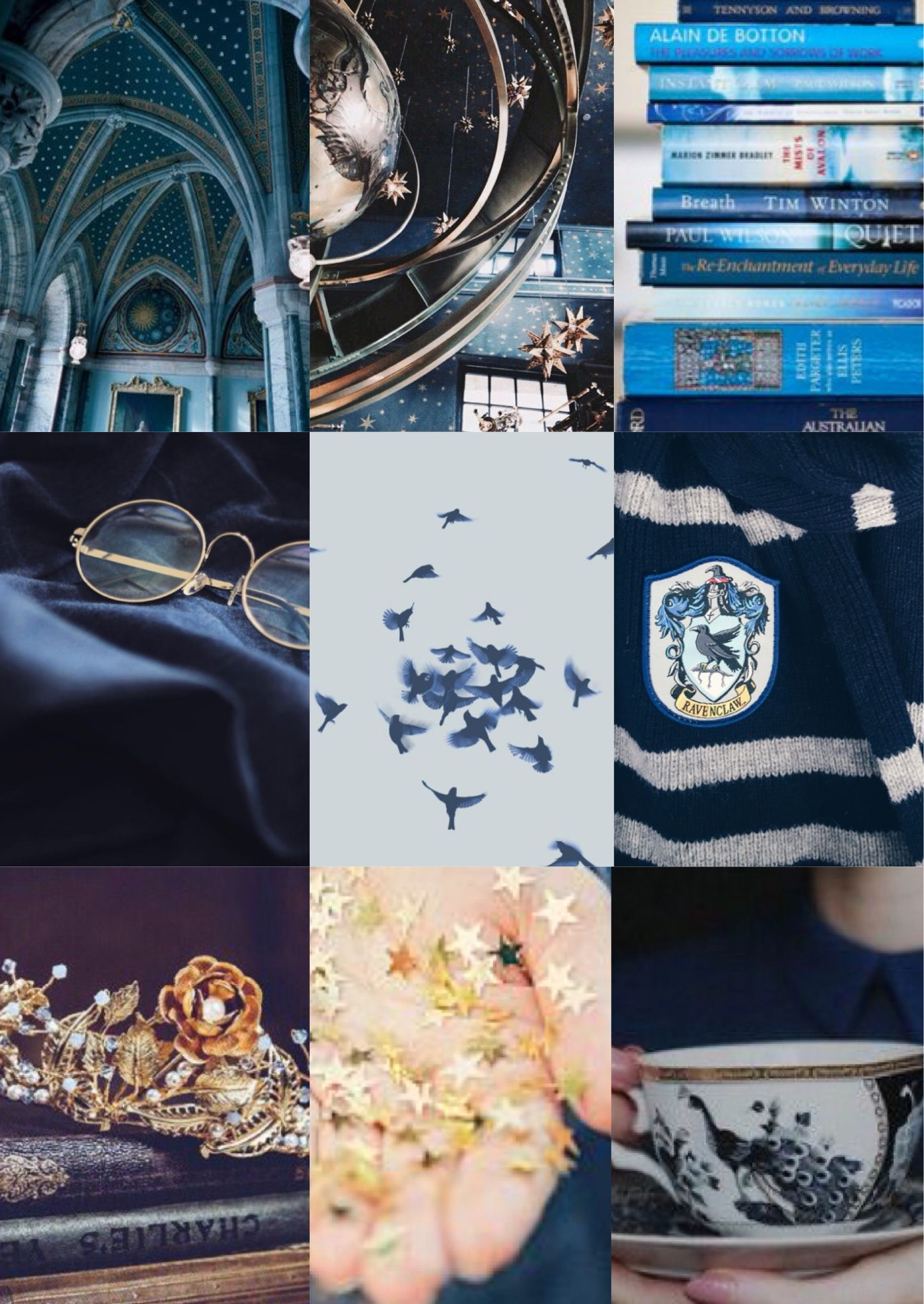 Ravenclaw Aesthetic Inspiration Ravenclaw Aesthetic Ravenclaw