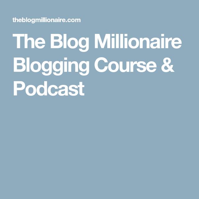 Blog millionaire