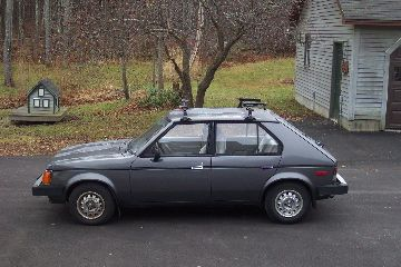 1989 Dodge Omni for Sale 1 - My First Car In Dodge Omni With Leaking Moon Roof - 1989 Dodge Omni for Sale 1
