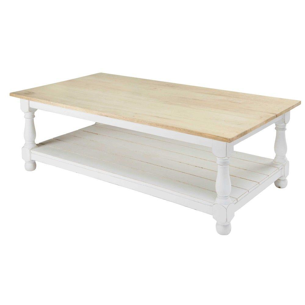 Table Basse En Manguier Rimini Maisons Du Monde Rimini Mesas