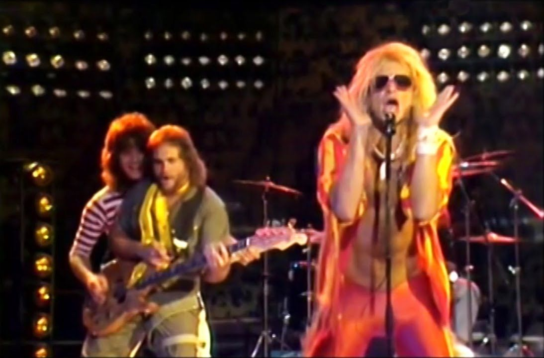 Van Halen Mean Street 1981 Italian Tv Performance Lip Sync Highes Eddie Van Halen David Lee Roth