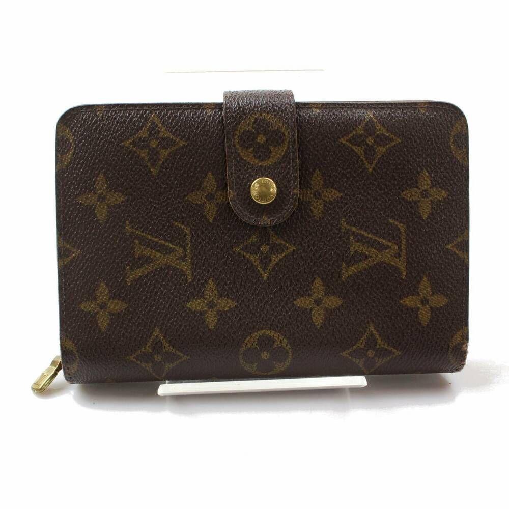 Authentic Louis Vuitton Zippy Wallet Porte Papier Zippe
