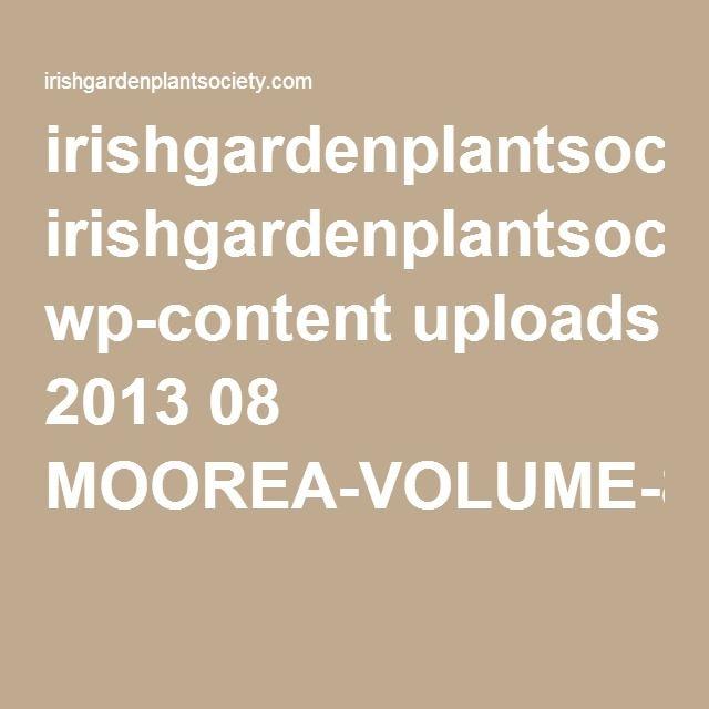irishgardenplantsociety.com wp-content uploads 2013 08 MOOREA-VOLUME-8-JANUARY-1990-PDF-7590KB.pdf