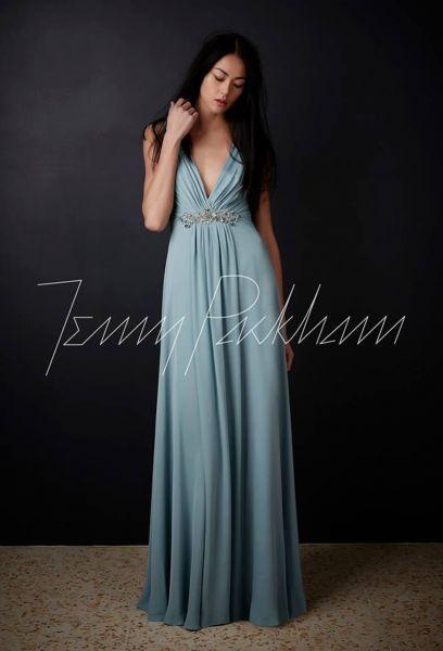 46 vestidos de fiesta azules largos 2017. ¡Encuentra el diseño más elegante! Image: 34