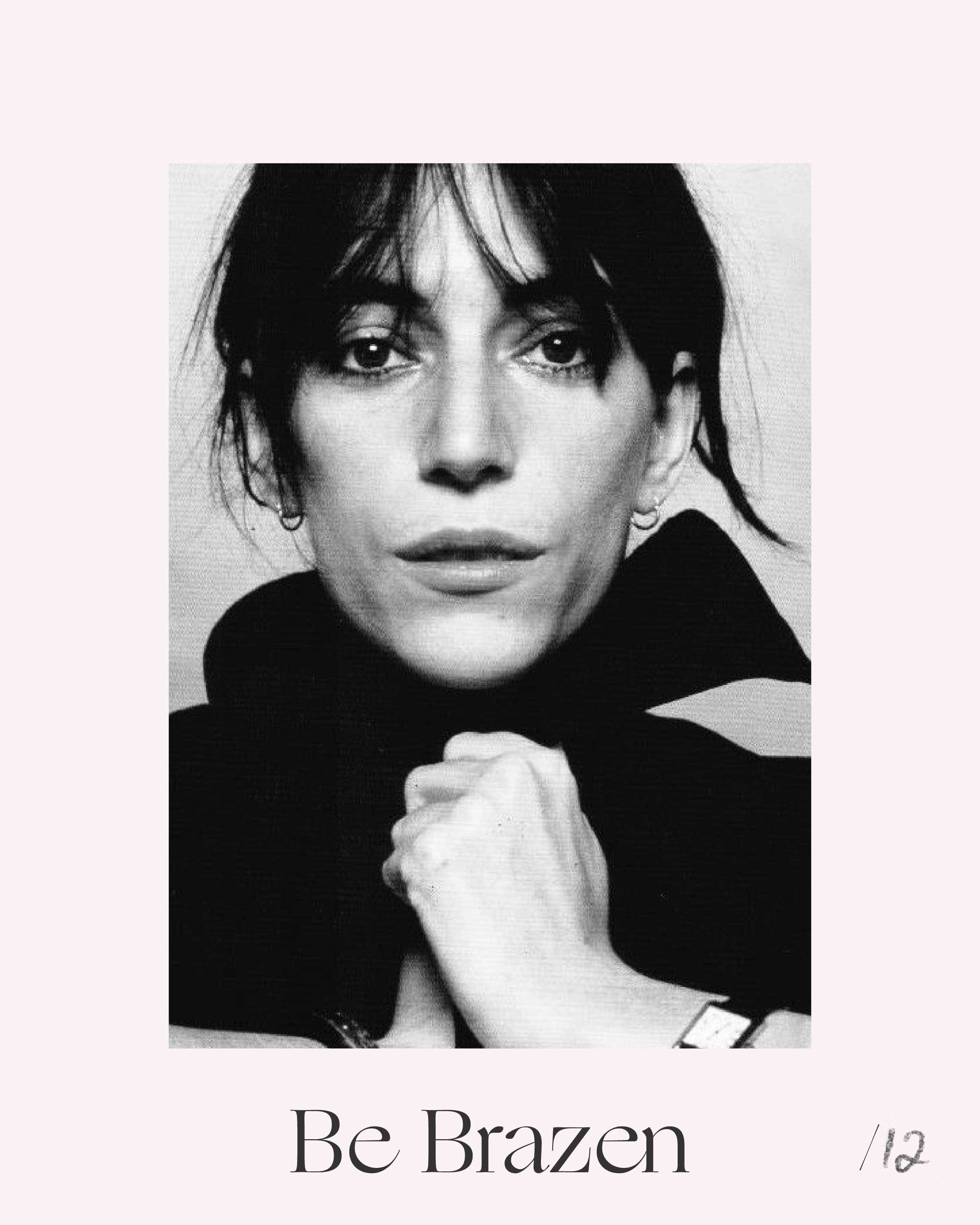 """""""I think I'm constantly in a state of adjustment"""" — Patti Smith: American singer, songwriter, poet and influential force behind the New York 1970s punk rock movement."""