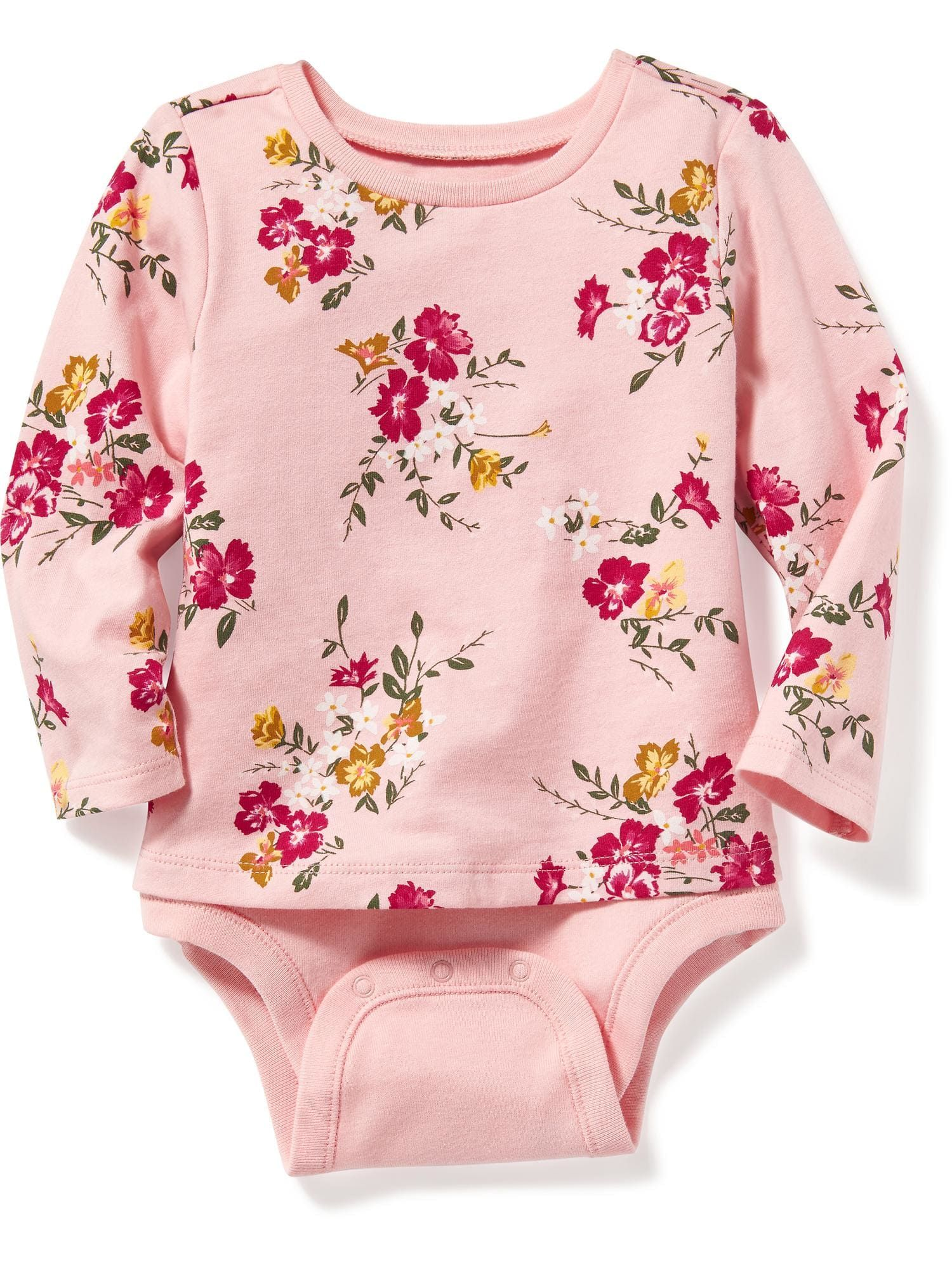 2 in 1 Swing Tee Bodysuit for Baby Old Navy