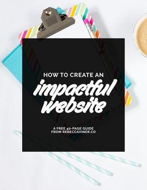 How to Create a Website With Impact