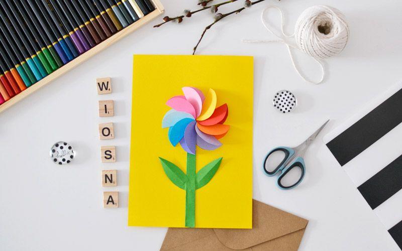 Kolorowy Kwiat Z Papieru Homeschool Lesson Planner Lesson Planner Homeschool Lesson
