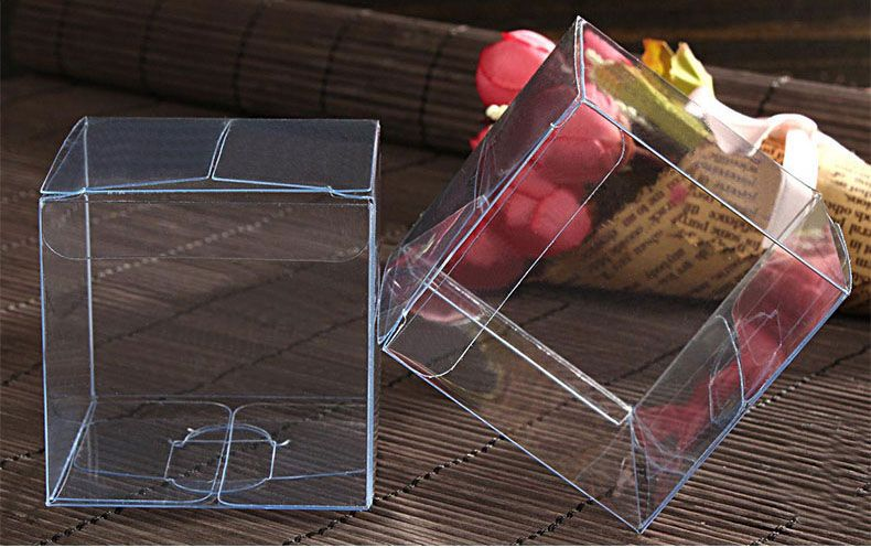 find more packaging boxes information about 300pcs 555cm clear plastic pvc boxes