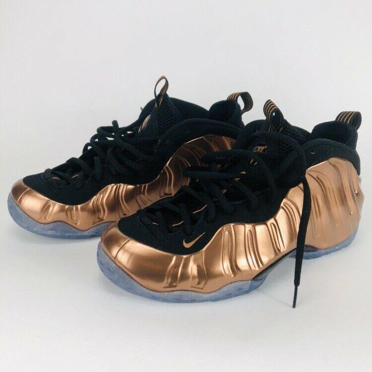 7303def61a8c1 Men s Nike Air Foamposite One Metallic Copper Gold Size 11 314996-007 Fresh