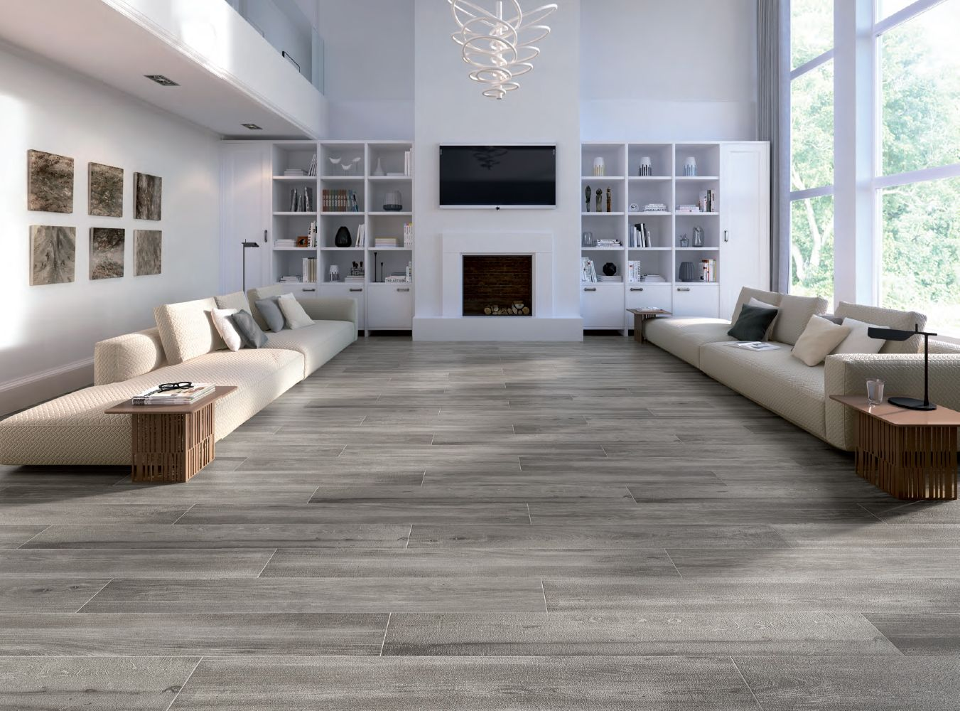 Cleveland taupe 9 x 48 porcelain wood look tile chateau wood cleveland taupe 9 x 48 porcelain wood look tile dailygadgetfo Gallery