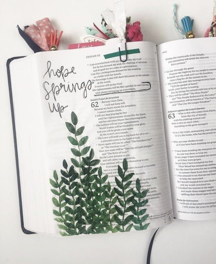 Leah's 3rd Journaling Bible Reflections & Flip-Through | Faith Heirlooms