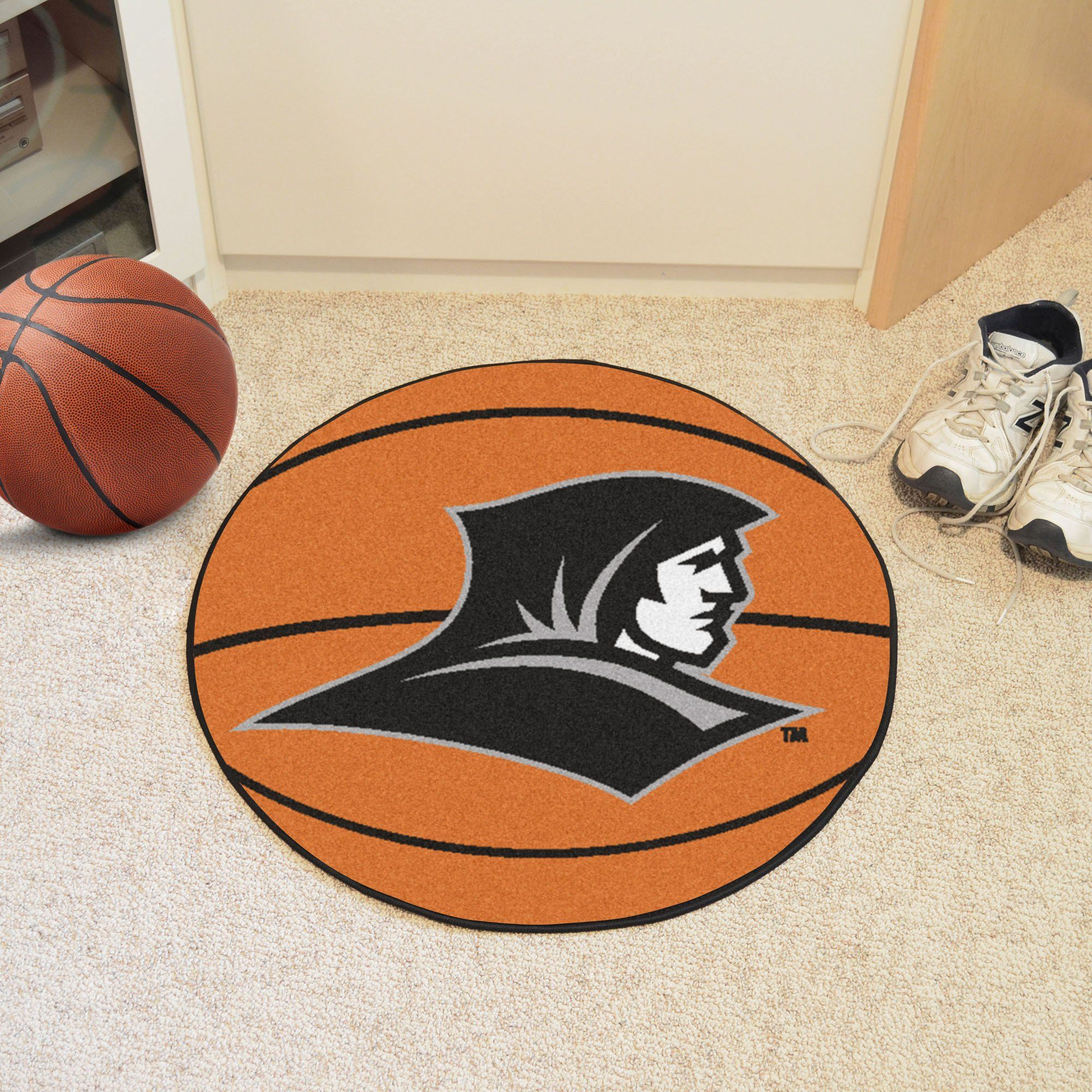 "Providence College Basketball Mat 27"" diameter"