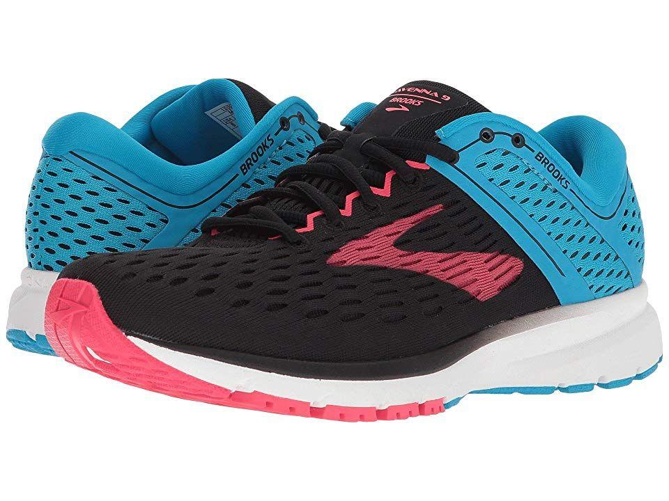 f63f7bbb2d8 Brooks Ravenna 9 (Black Blue Pink) Women s Running Shoes. Keep going ...