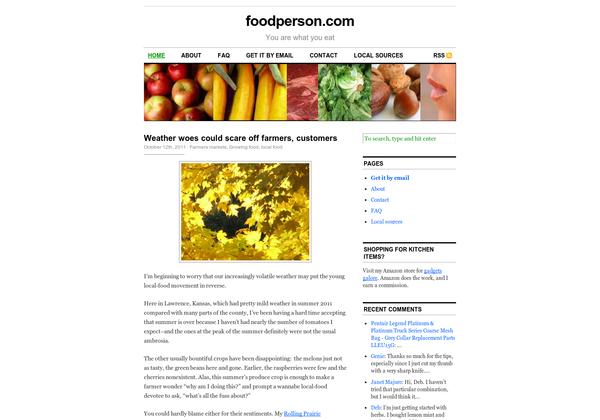 via url2pin Sustainable food