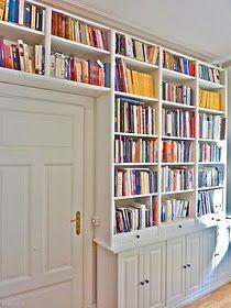 IKEA Billy Bookshelves Project