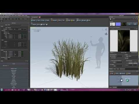 Making Grass Using Speedtree for Unreal Engine 4 part 1