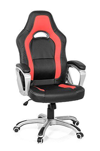 Santana Sports Chair, Executive Office Chair, Desk Chair, Ergonomic Swivel  Study Computer Gaming