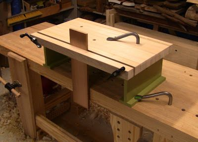 Building a bench on bench
