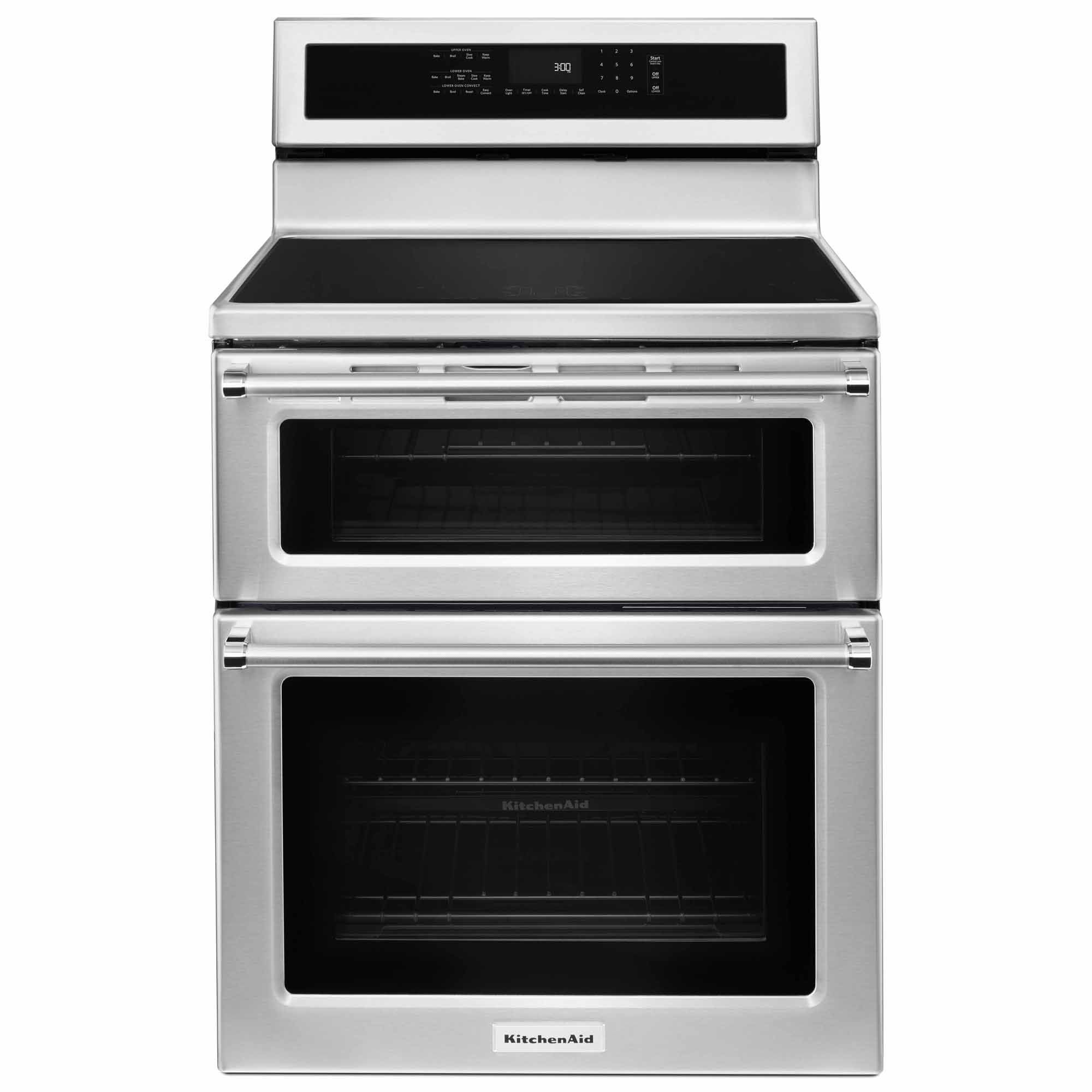 Found it absoutely must have double oven range double