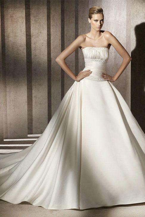 Taffeta Ball Gown Wedding Dresses
