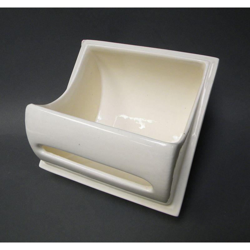 Porcelain Toilet Paper Holder Vintage