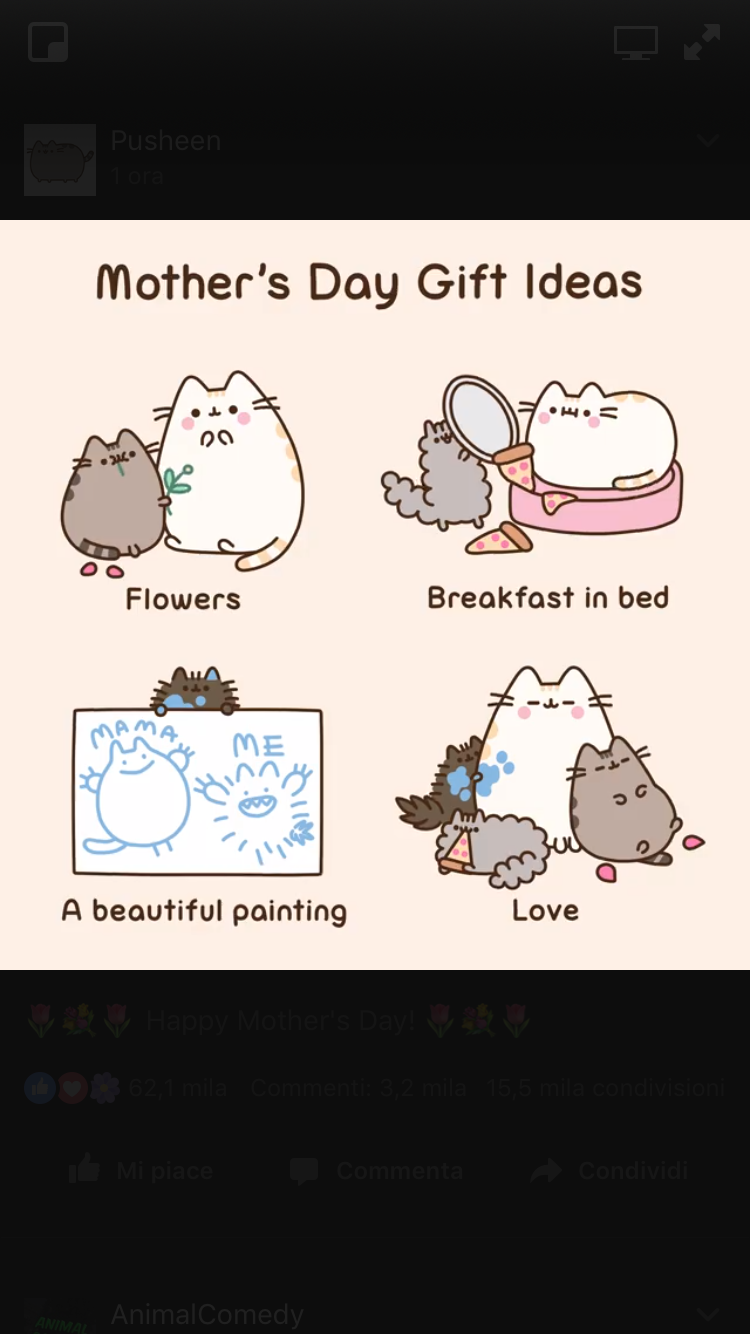 Mothers Day Ideas With Pusheen Happy Cats Animal S2691s Coloring Pages