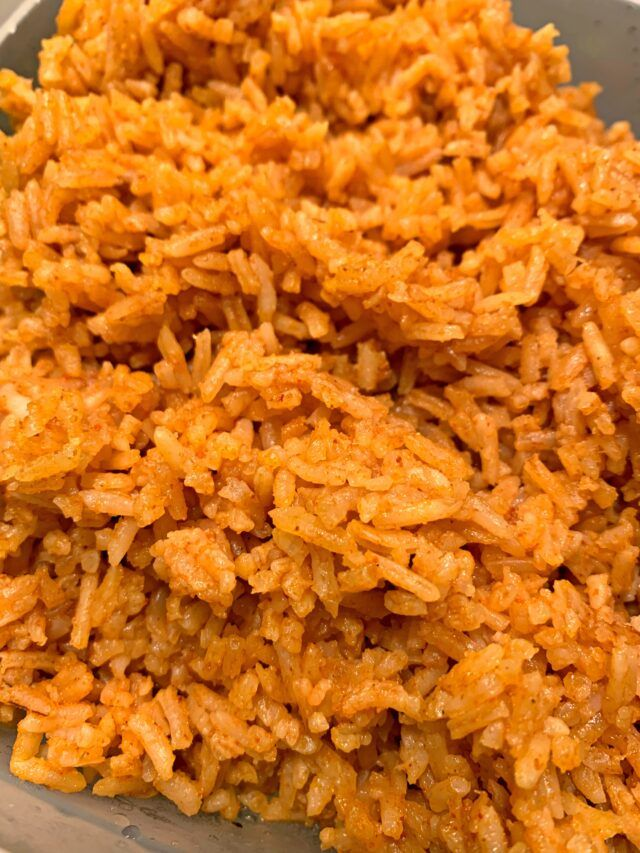 Instant Pot Mexican Rice #ricecookermeals