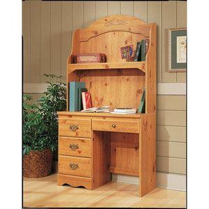 Creative Interiors Student Desk With Hutch Pine