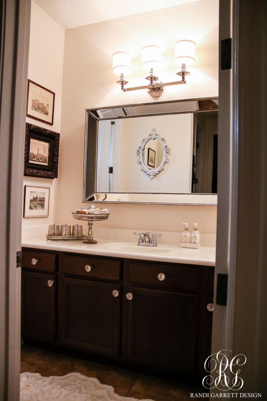 Transitional Guest Bathroom Makeover Mood Board