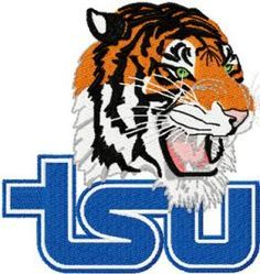 9c6c9402 Tennessee State University logo machine embroidery design $7 embroideres.com