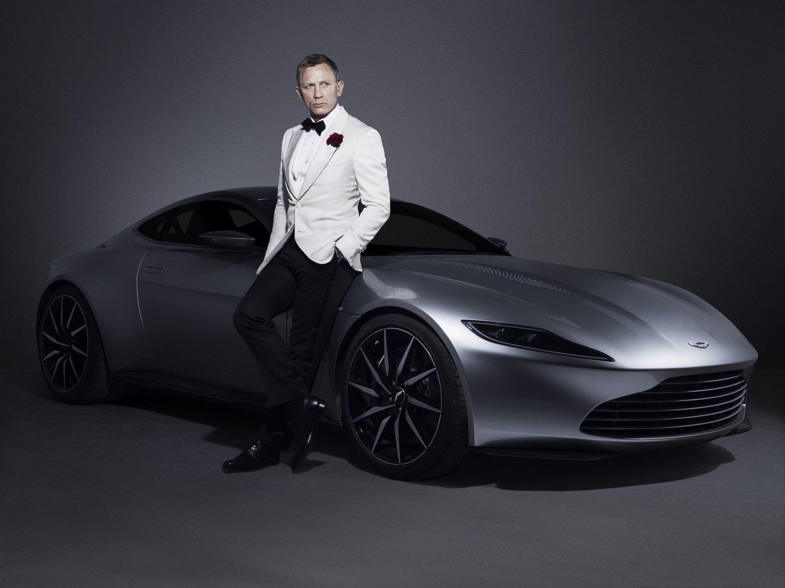 Men Actor Celebrity Daniel Craig James Bond 007 Aston Martin Car Aston Martin Db10 Simple Background S Aston Martin Db10 Aston Martin Rapide Aston Martin