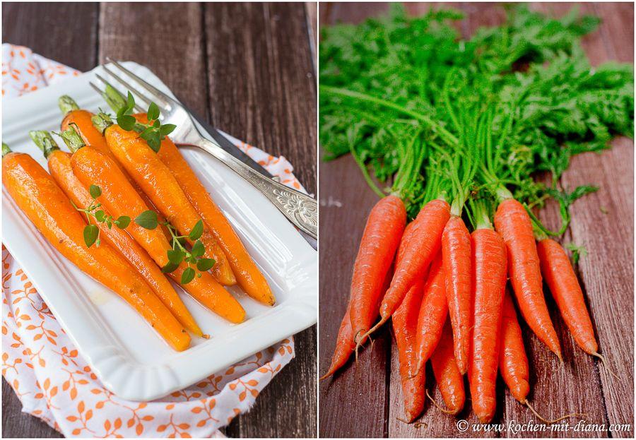 Glasierte Möhren | Rezepte | Glazed carrots, Carrots und ...