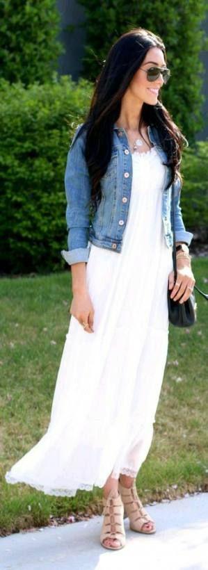 Dress Casual Modest Jean Jackets 39 Ideas -   16 dress Modest jean jackets ideas
