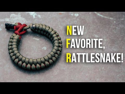 My New Favorite Paracord Bracelet Rattlesnake Knot And Loop Style Youtube Paracord Bracelet Tutorial Paracord Bracelets Paracord Bracelet Instructions