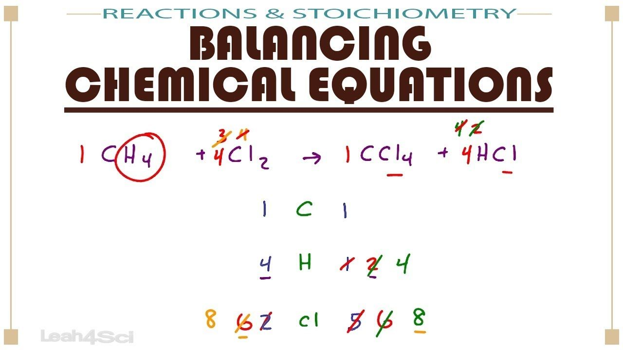 Balance Different Types Of Reactions With A Simple Yet Efficient Method To Help Avoid All The Confusion Mcat Premed Chemical Equation Equations Mcat [ 720 x 1280 Pixel ]